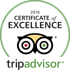 Certificate of Excellence, Trip Advisor